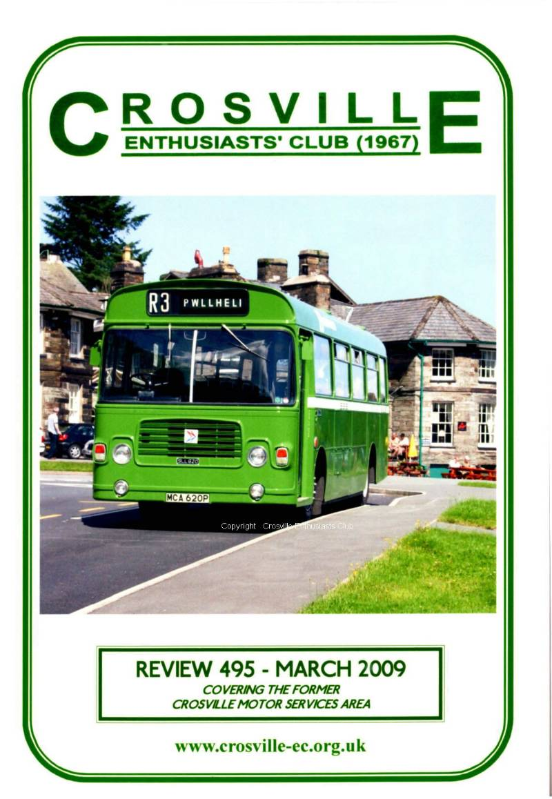 Crosville Review magazine number 495